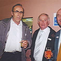 Left to right: Peter Penny, Pat O'Connor, Stephen Murphy | Geoff Webb