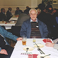 Left to right: Tom Archer, Tom Belshaw, Keith Bissell   Geoff Webb