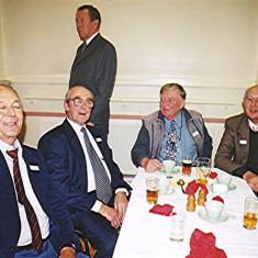 Left to right: Bill Mimer, Norman Peck, Mick Halsey (rear), Geoff Hobbs, Peter Fry   Geoff Webb