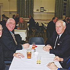 Left to right: John Tingey, Alan French, Norman Shepherd, Jim Smith | Geoff Webb