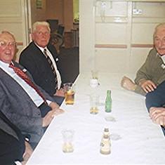 Left to right: Geoff Nunn, Alan Anstee, 'Snowy' Nunn, Ken Marshall, Ted Benn   Geoff Webb