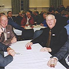 Left to right: Alan Clark, John Catlin, Dick Dalton, Peter Allen   Geoff Webb