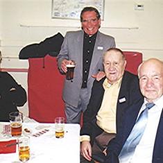 Left to right: Bill Price, Jim Hales, Doug Robinson, Brian Males   Geoff Webb