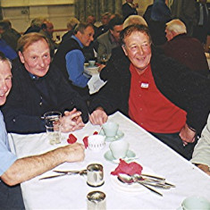 Left to right: Reg Stevens, Cliff Coots, Albert Hedges, Trevor Coleman   Geoff Webb