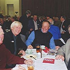 Left to right: 'Jippy' O'Hara, Alan Paynter, Frank Yates, Mick Miles   Geoff Webb