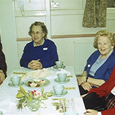 Left to right: Jean Harborough, Doris Pacey, Betty Hall, Olive Darvell | Geoff Webb