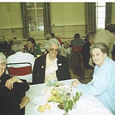 Left to right: Kath Smith, Betty Winch, Brenda Ventham | Geoff Webb
