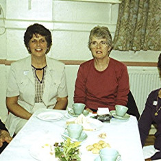 Left to right: Mary Chatfield, June Smith, Rosalie Brown, Janet Rough | Geoff Webb