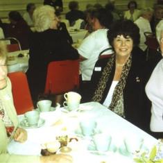 Left to right: Rosemary Stevens, Sheila Hales, Lily Bird | Geoff Webb