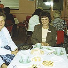Left to right: Sheila Game, Ann Flitton, Pam Hawkins, 'Bunny' Taylor | Geoff Webb