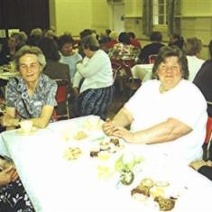 Left to right: Shirley Bower, Mary Axtell, Gwynneth Hobbs, Ruby King | Geoff Webb