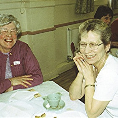 Sisters Barbara (left) and Betty Cheiza (Maiden name) | Geoff Webb