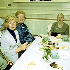 Left to right: Thelma Coleman, Mary Game, Doreen French, Gwen Knight, Jean Attfield | Geoff Webb