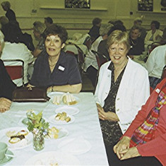 Left to right: Daphne Waller, Evelyn Hawkins, Diane Sharp, Rose Maguire | Geoff Webb