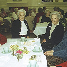 Left to right: Gladys Fox, Doll Elsom, Daphne Mills, Laura Holt, Olive Darvell | Geoff Webb