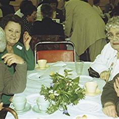 Left to right: Ida Elborn, Rita Walton, Eileen Mutimer, Barbara Walton | Geoff Webb
