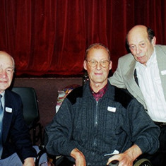 Left to right: Brian Males, Roger Wheatfill, Keith Bissell | Geoff Webb