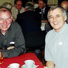 Mick Chatfield (left) and Trevor Coleman | Geoff Webb