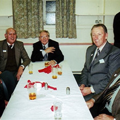 Left to right: Geoff Hobbs, Peter Fry, Brian Cheiza, Mick Halsey and David Axtell | Geoff Webb