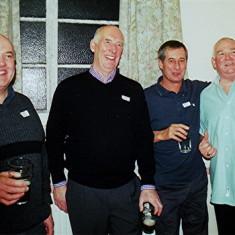 Left to right: Walter Rough, John Smith, Brian Halsey and Mick O'Hara | Geoff Webb