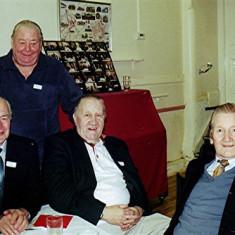 Left to right: Brian Males, Dennis Flitton (rear), Doug and Aubrey Robinson | Geoff Webb