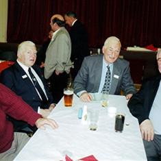 Left to right: John Tingey, Geoff Nunn, Ken Marshall and Alan French | Geoff Webb