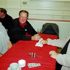 Left to right: Trevor Coleman, Albert Hedges and Graham Field | Geoff Webb
