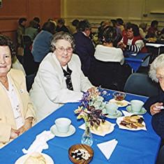 Left to right: Rita and Barbara Walton with their relative Ida Elborn | Geoff Webb