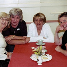 (Left to right): Peggy McLaughlin, Daphne Herring, Jennifer Winch, Pam Burrows | Geoff Webb