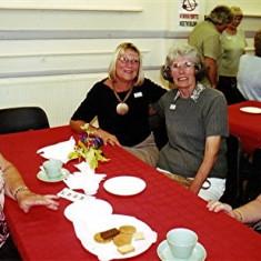Left to right: Thelma Coleman, Judith Webb, Betty Peacock and Brenda Ventham | Geoff Webb