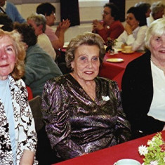 Left to right: Mary Game, Gladys Austin and Peg Field | Geoff Webb