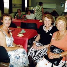 Janet McKenna (left), Margaret Webb (centre) and Rosemary Stevens. | Geoff Webb