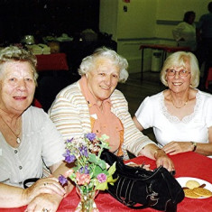 (Left to right):  Anne Flitton, Betty Winch and Doreen Herring. | Geoff Webb