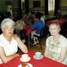 Jean Attfield (left) and Gwen Knight | Geoff Webb