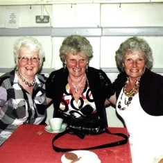 The Bird sisters: Lily (left), Sybil (centre) and her twin Doreen. | Geoff Webb