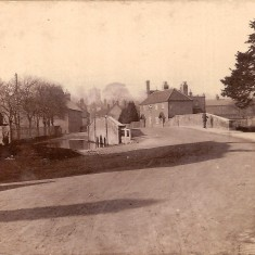 Bridge and Ford on the Ver in St Michaels Village about 1910