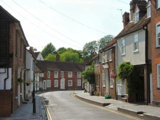 Fishpool Street. Note the raised pavement on the north side | Derek Roft