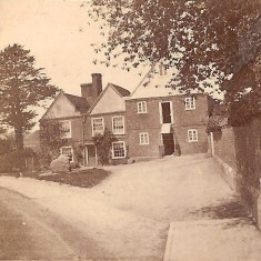 Kingsbury Mill, St Michaels Village about 1910. Now the waffle house