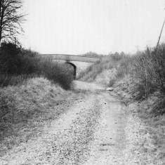 Section of the line near Hemel Hempstead with the track removed, c1979. | © Dacorum Heritage Trust