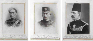 Photographs of officers from the regimental album of 4th Battalion Bedfordshire Regiment (Herts Militia) c.1900- 1915 | Hertfordshire Archives and Local Studies, Ref: DE/Yo/1/53