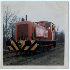 The Hemelite company's private diesel shunter, newly painted. | Lent by Ken Allen
