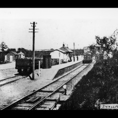 Smallford Station, looking towards Hatfield, between the Wars. | © The Lens Of Sutton Association