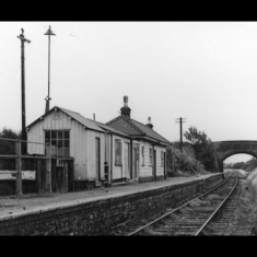 Smallford Station looking east in 1967. | © T A Murphy, given by Stephen Castle