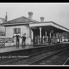 Midland Road Station, Hemel Hempstead, early twentieth century. | Lent by Ken Allen