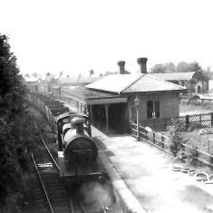 Goods train at Midland Road Station, Hemel Hempstead, 1950s. | © Alan J Willmott