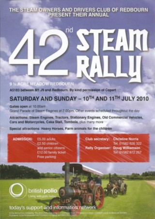 Redbourn Steam Rally 2010
