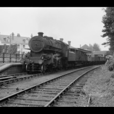 Freight train arriving at Hemel Hempstead Station July 1956. | © Michael Covey-Crump