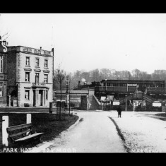 Heath Park Halt lay just south of the present 'magic roundabout' in Hemel Hempstead; around 1910. | © The Lens of Sutton Association