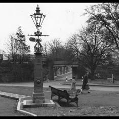 Heath Park Halt, Hemel Hempstead, from the park, 1957. | © Alan J Willmott