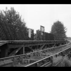 The timber platform at Heath Park Halt, Hemel Hempstead, late 1950s. | © Michael Covey-Crump